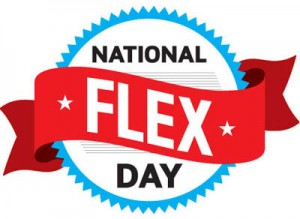 National Flex Day Badge