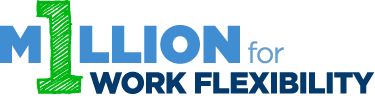 1 Million for Work Flexibility Logo