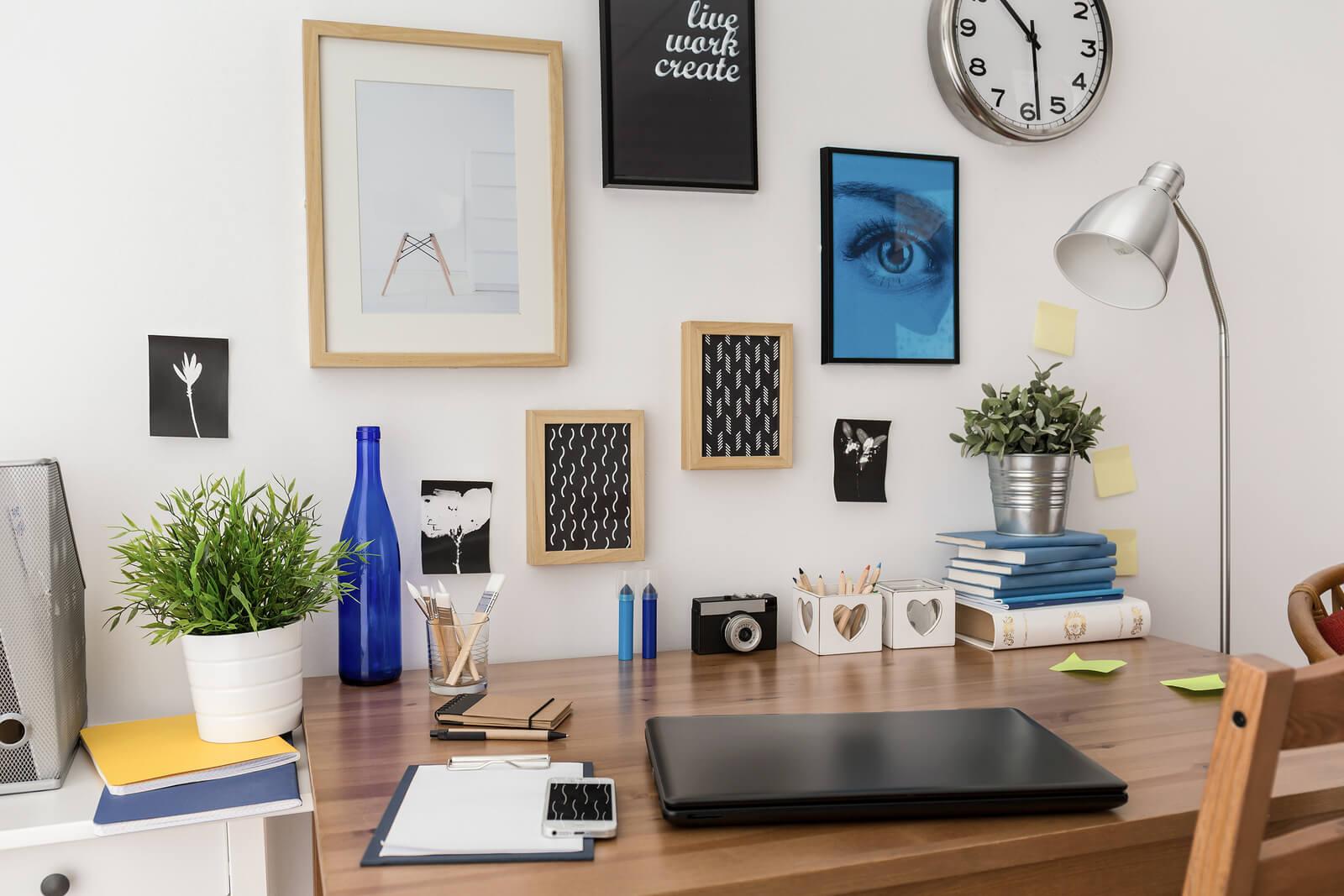 bigstock-Pictures-Above-Desk-93018317