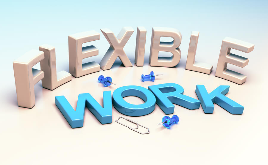Flexible work is becoming the norm