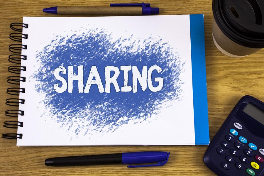 Job sharing poster